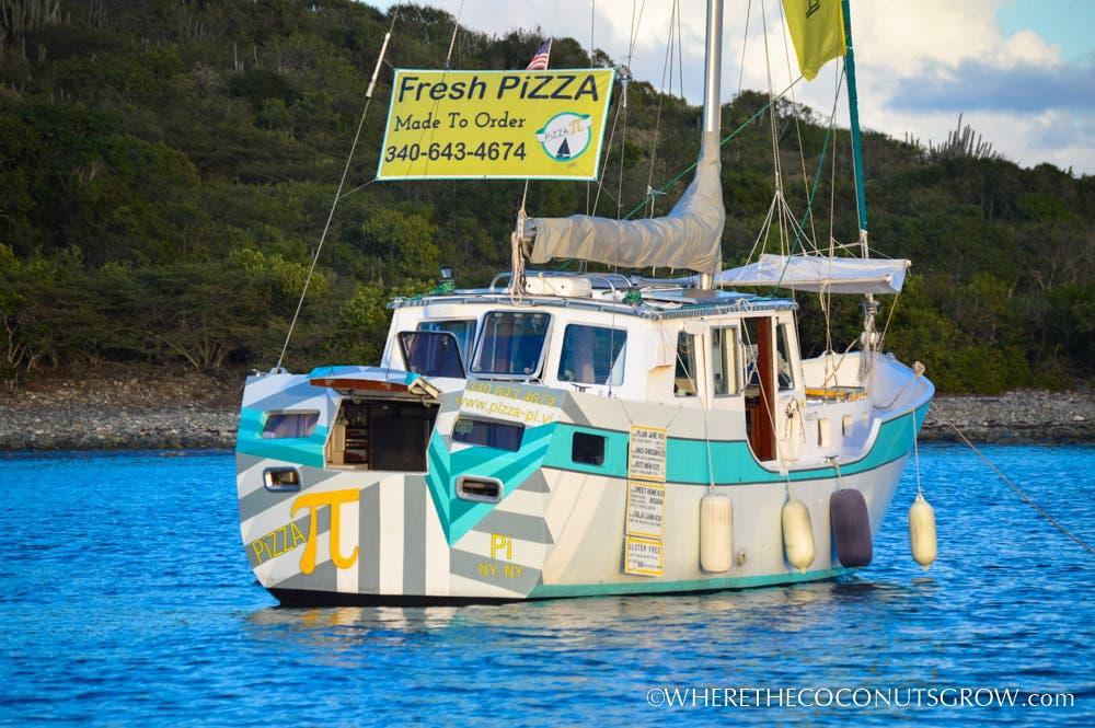 Tiny Floating Homes Pizza Pi A Virgin Islands Food Boat
