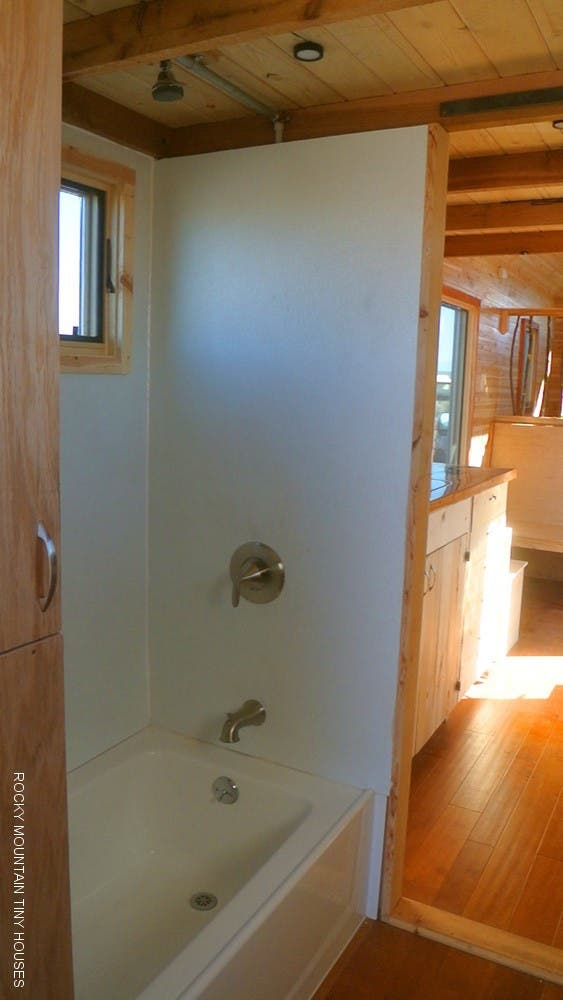 showers for tiny houses gooseneck tiny house