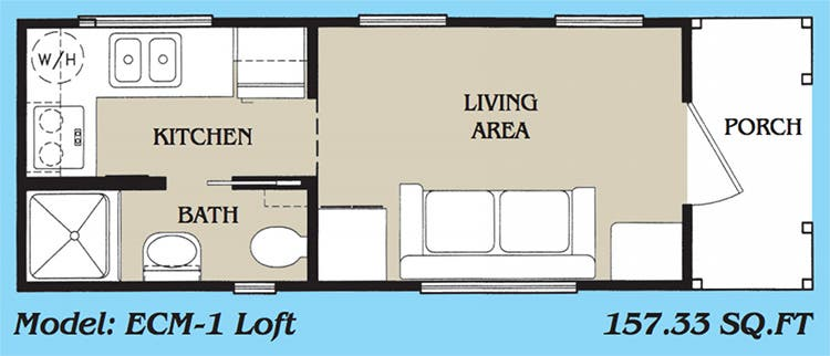 Upon First Entry The Tiny House Looked Like A Traditional For Whatever That Means Layout At Just 157 Sqft It Featured Living Area Bathroom With
