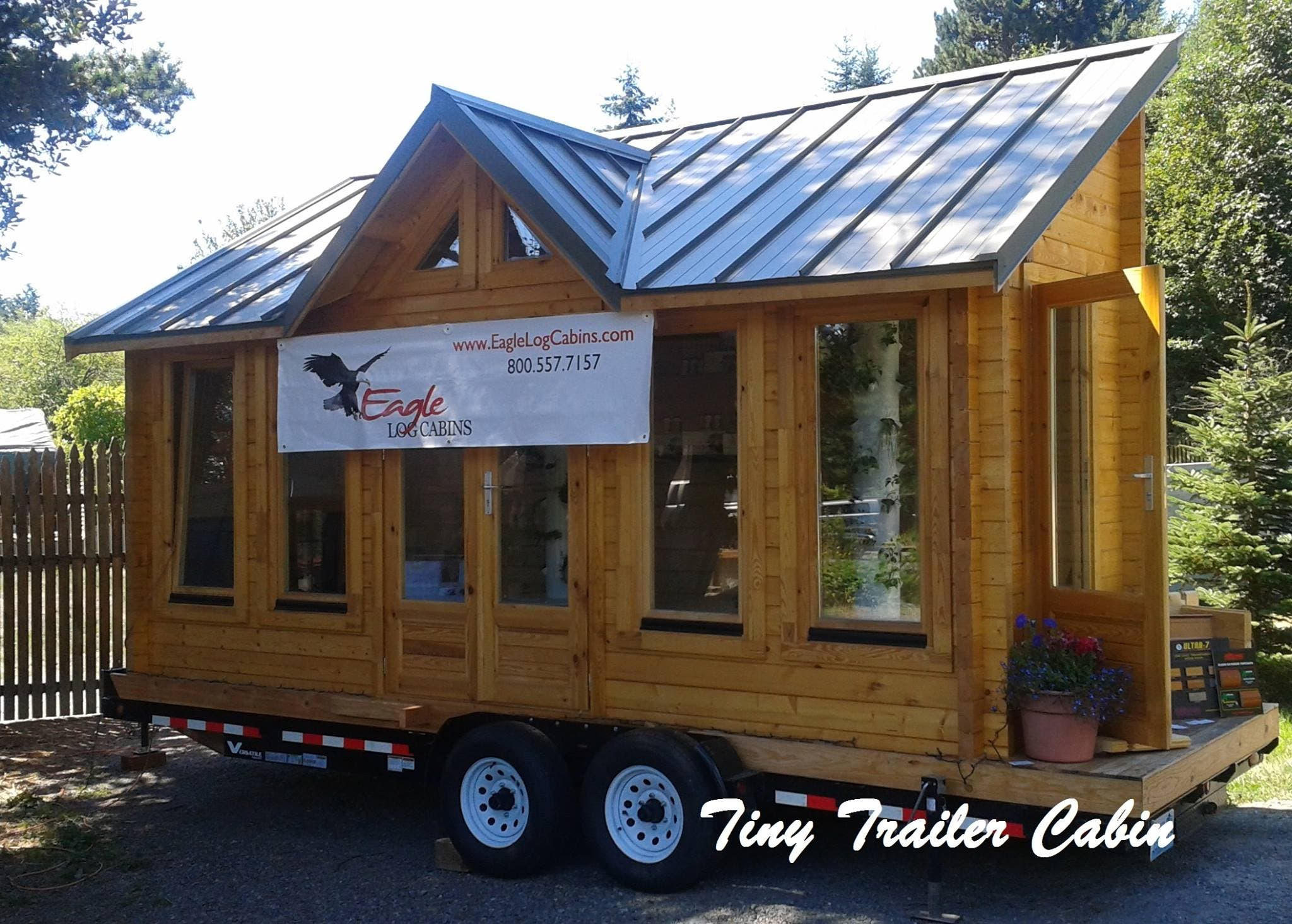 Eagle log cabins for Rv cottage plans