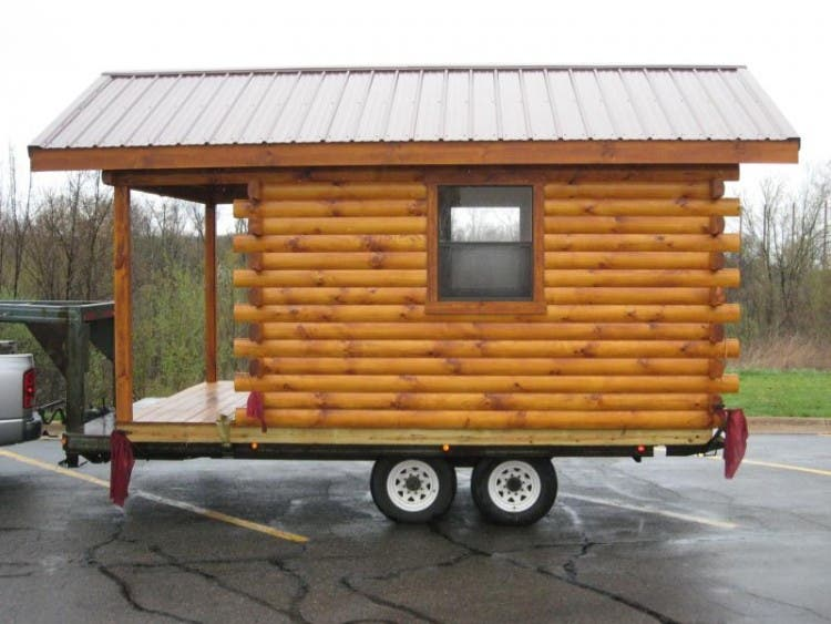 Trophy Amish Log Cabins Tiny House Blog