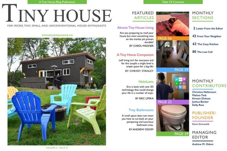 Tiny House Magazine Issue 27