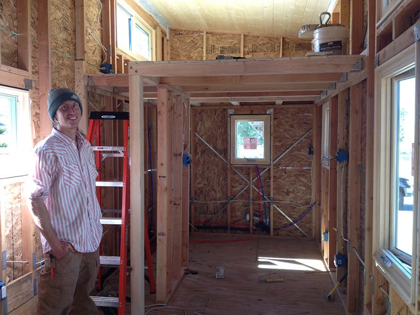 """McMansion of Tiny Houses"" Built by Woodshop Class"