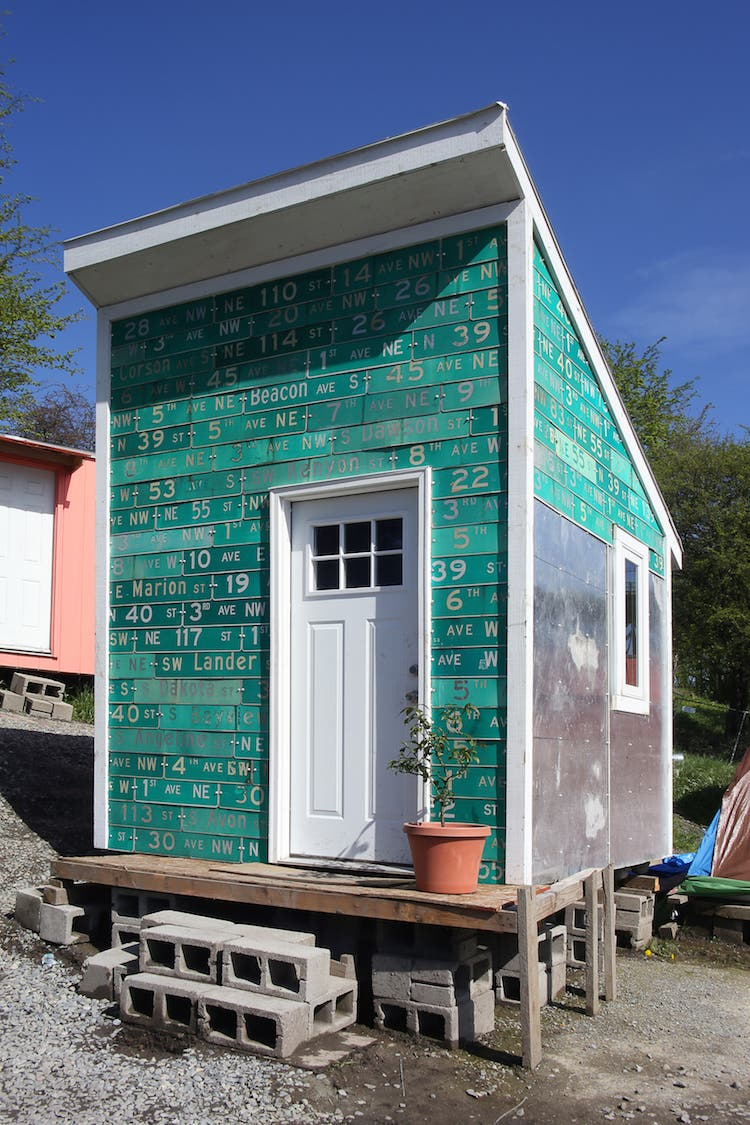 Youth Built Tiny House for Seattles Homeless