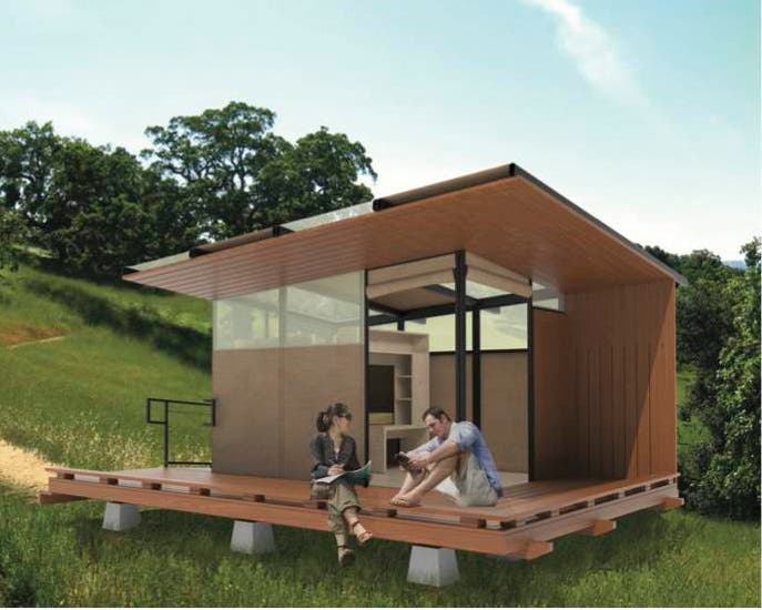 Tiny Prefab Cabins In California Parks - Tiny House Blog
