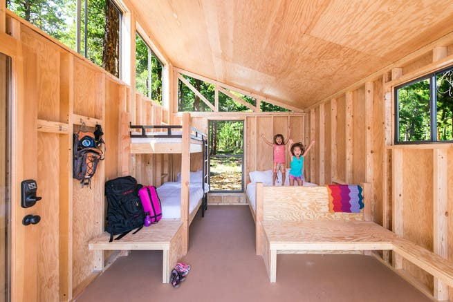Tiny Home Designs: Tiny Prefab Cabins In California Parks