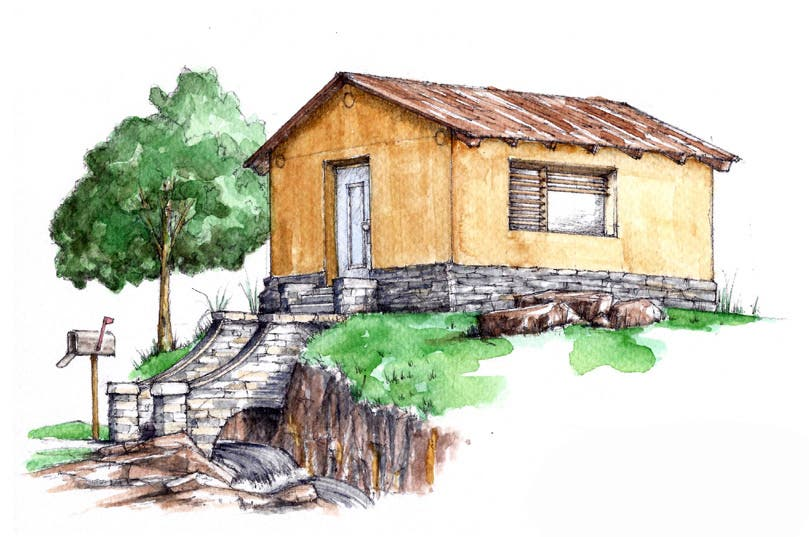 Plans Available for a 4500 Cob House Tiny House Blog