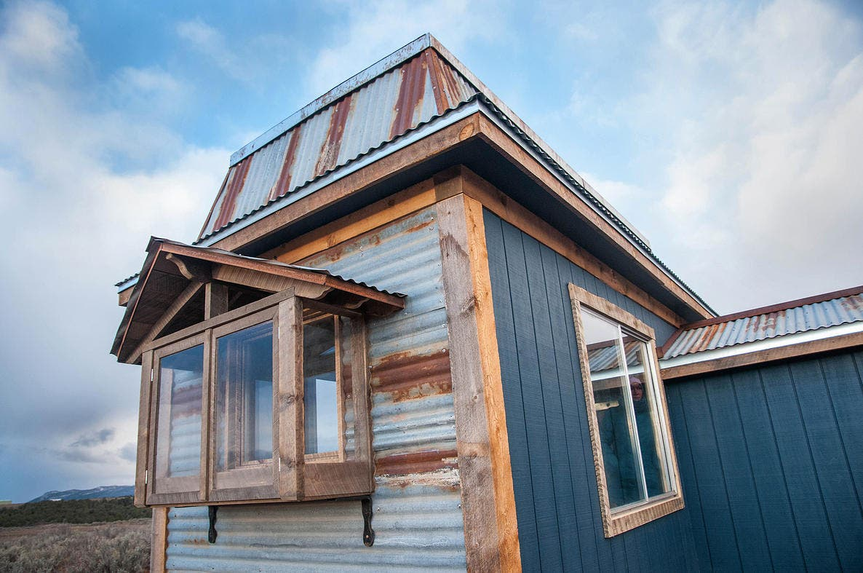 Spice Box Homes Mountain Mansard Tiny House Blog
