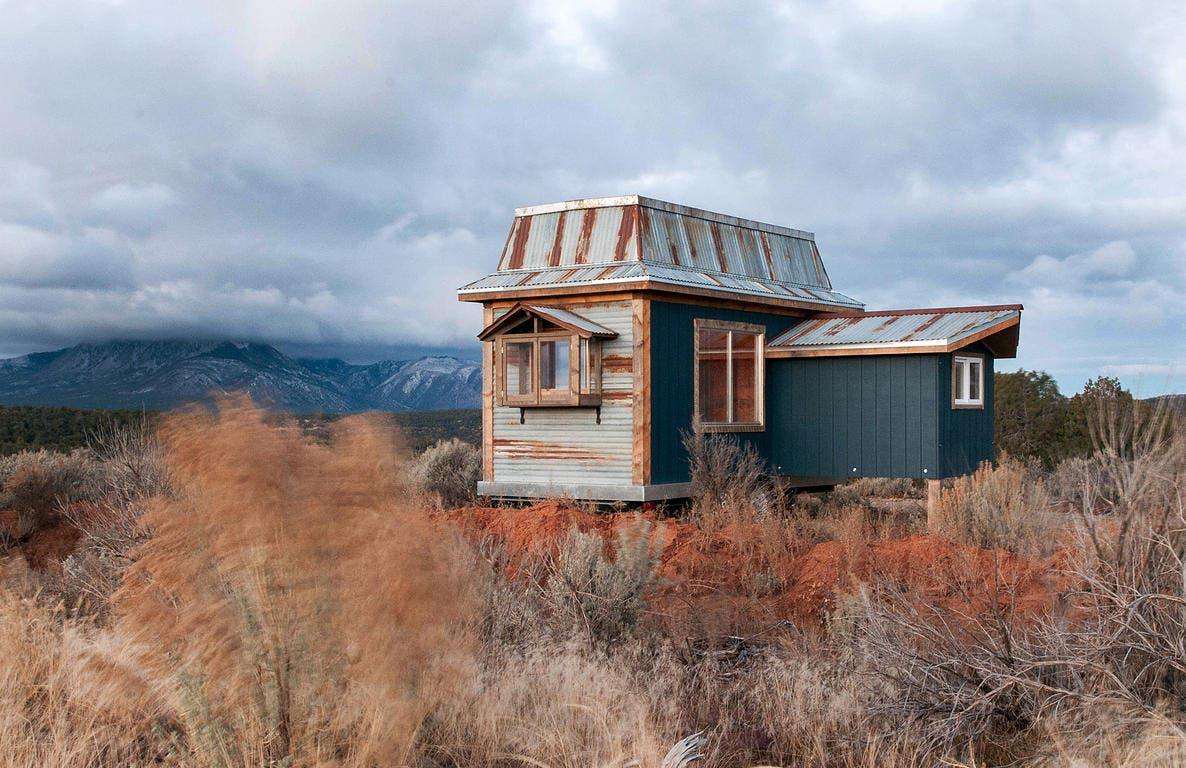 Spice Box Homes tries to reuse material at every turn. An estimated 75% of