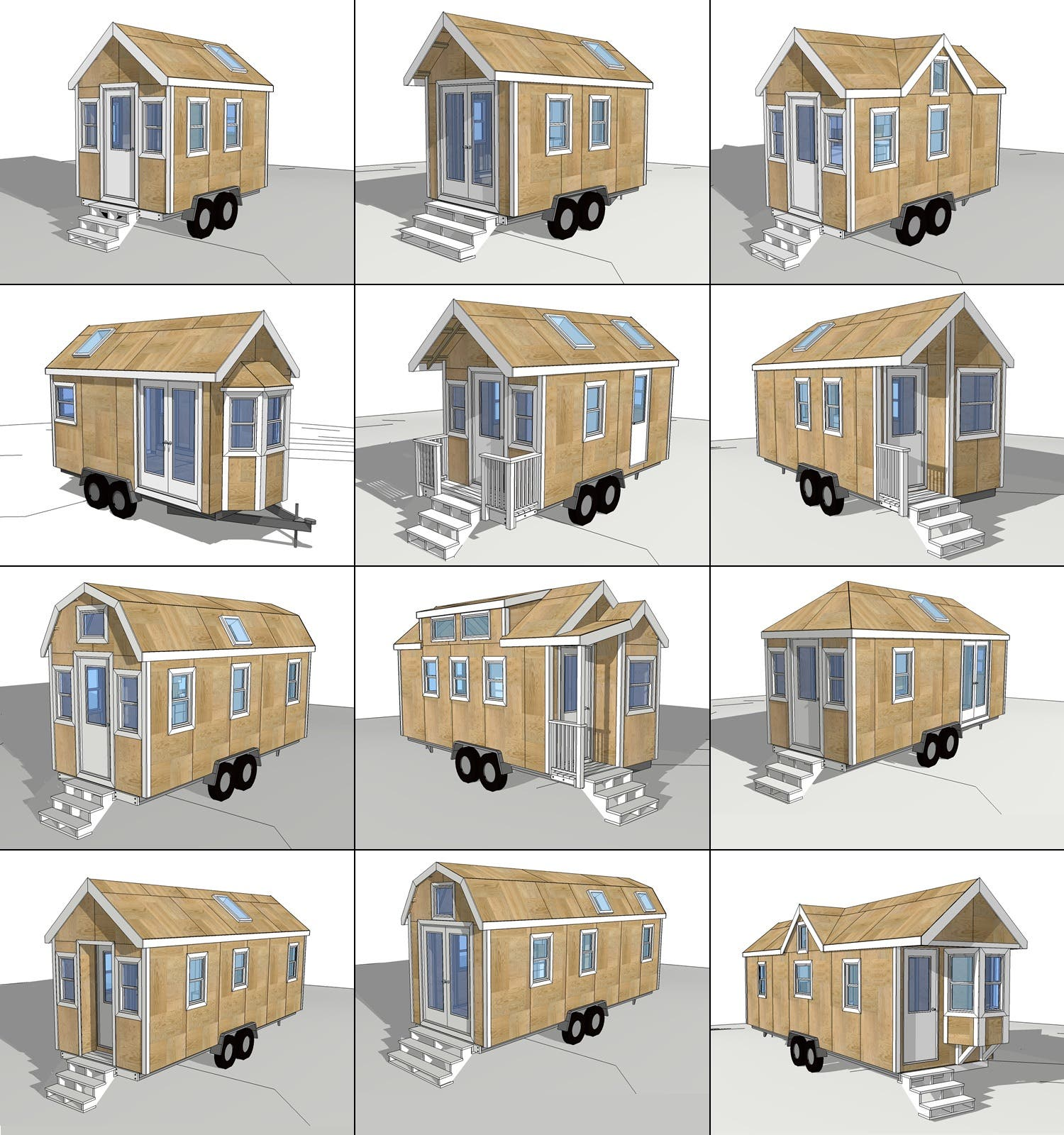 12 plan bundle 5 days 79 for Tiny home blueprints free