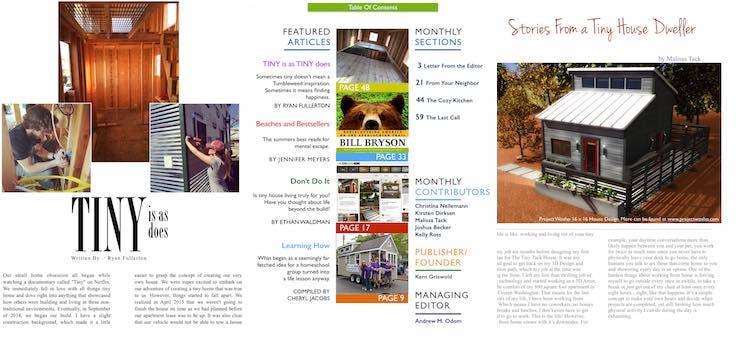 Tiny House Magazine Issue 30