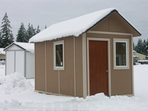 tiny house or shed