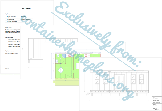 20 Shipping Container Home Floor Plans