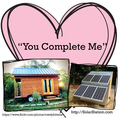 tiny house and solar