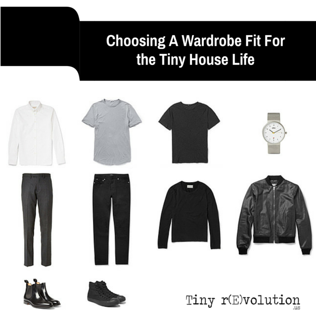Choosing A Wardrobe Fit For the Tiny House Life