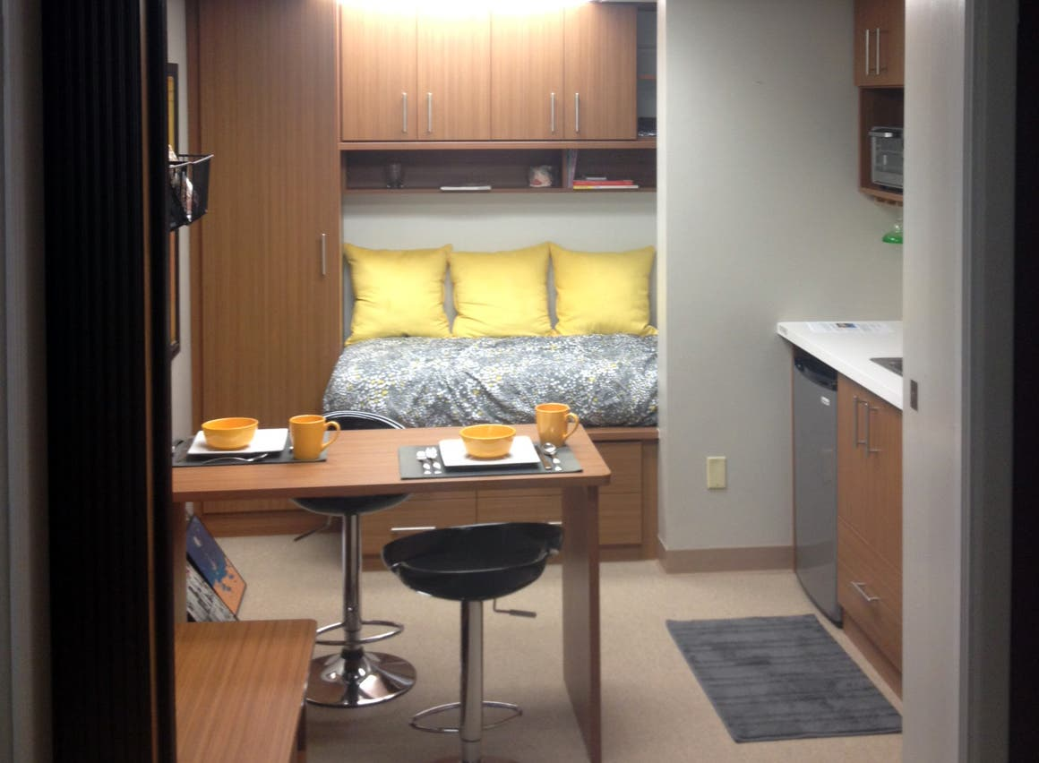 U201cLiving Big In A Small Spaceu201d: 96 Square Feet Of Living Space