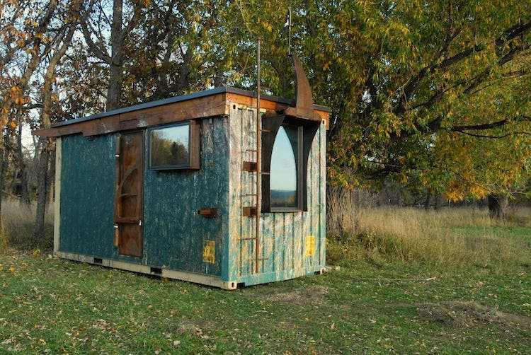rhino cubed shipping container tiny homes. Black Bedroom Furniture Sets. Home Design Ideas