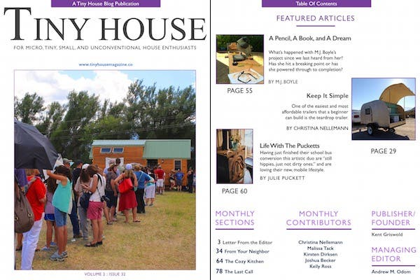 Tiny House Issue 32