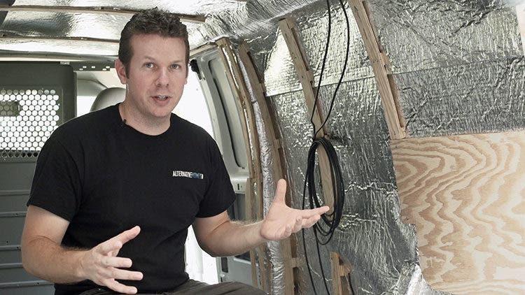cargo-van-conversion-insulation