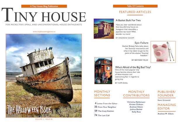 Tiny House Magazine Issue 34