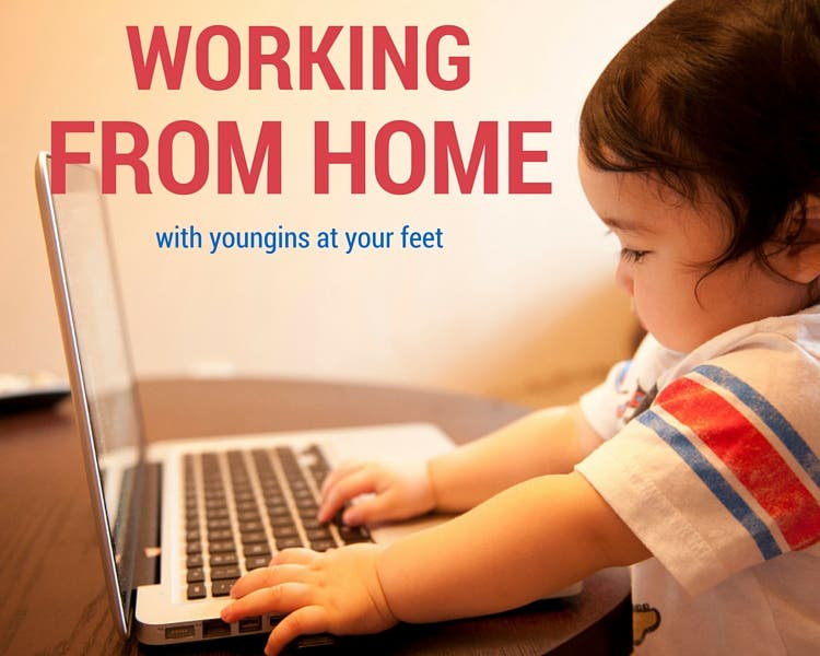 working from home with youngins at your feet tiny house blog. Black Bedroom Furniture Sets. Home Design Ideas