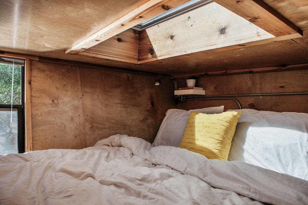 Woody Tiny House on Wheels Cost Only 50000 to Build Tiny