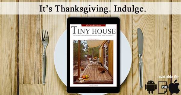 Tiny House Magazine Banner