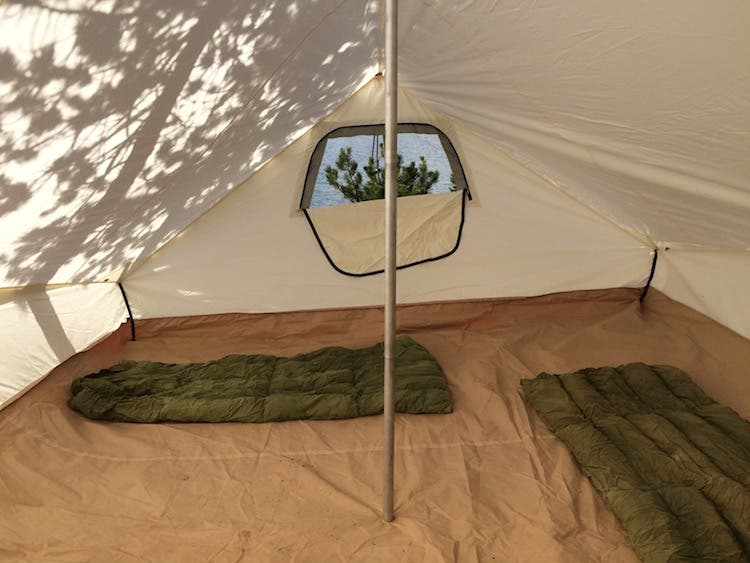 A few months ago Christina covered wall tents in one of her posts as a temporary tiny house option and she featured the Ellis Canvas Tent wall tent in many ... & The Torrent Ellis Canvas Tent Review - Tiny House Blog
