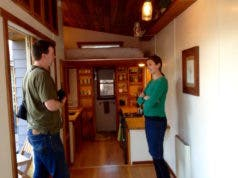 Envi heater in tiny house