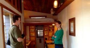 Envi heater in tiny house