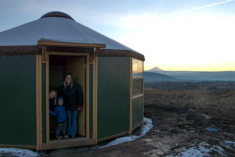 Freedom Yurt-Cabin
