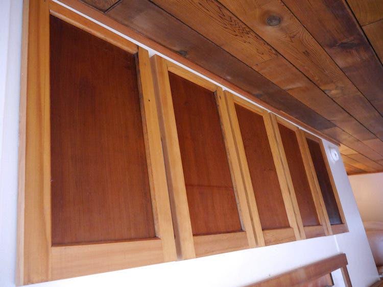 tiny house modern portland cabinets