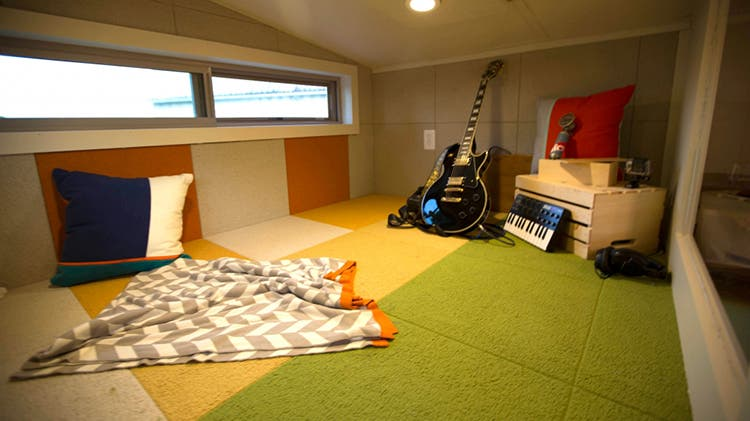 Let the music play tiny house blog for Tiny studio