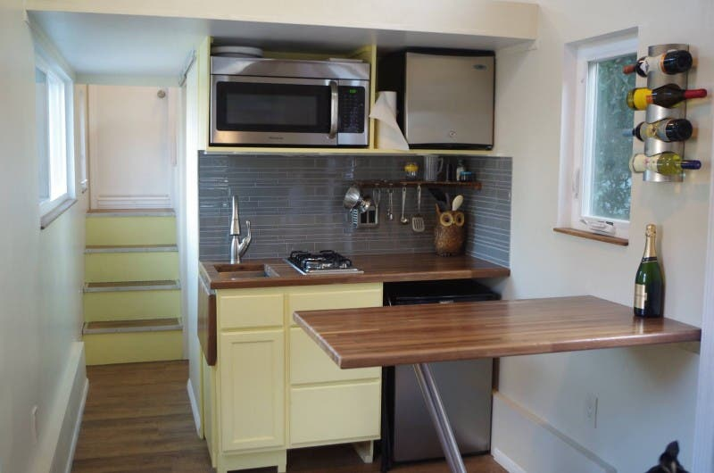 trekkertrailers emilyshouse kitchen this tiny house - Tiny House Kitchen 2