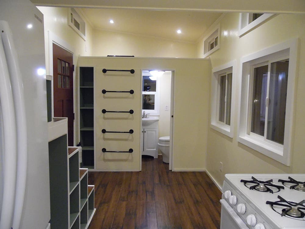 upper valleys other tiny homes include fully finished and rough finished versions and a variety of interiors - Tiny House Kitchen 2