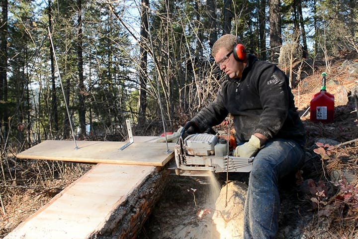 milling own lumber from property