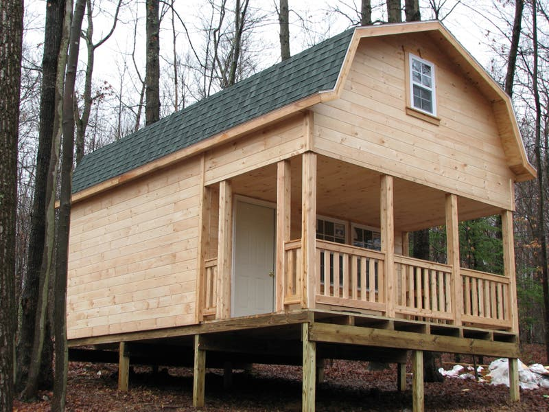 Amish Yard Speciality Buildings as Tiny Houses Tiny House Blog