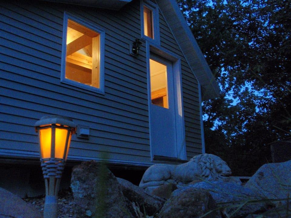 Mark S Little Cabin Near The Small River Tiny House Blog