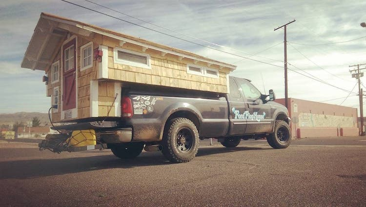 imagine driving through some of americas largest cities like new york philadelphia or baltimore and seeing a tiny house built on the bed of a pickup - Largest Tiny House On Wheels