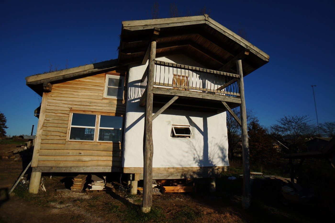 4 small homes for sale right now tiny house blog for Straw bale house cost per square foot
