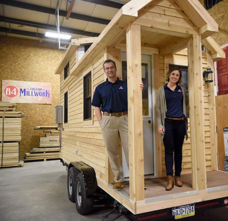 84 lumber begins offering custom tiny homes tiny house blog for 84 lumber house kits