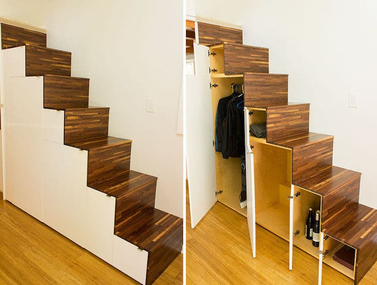 Hikari-Box-Tiny-House-Tansu-Storage-Stairs