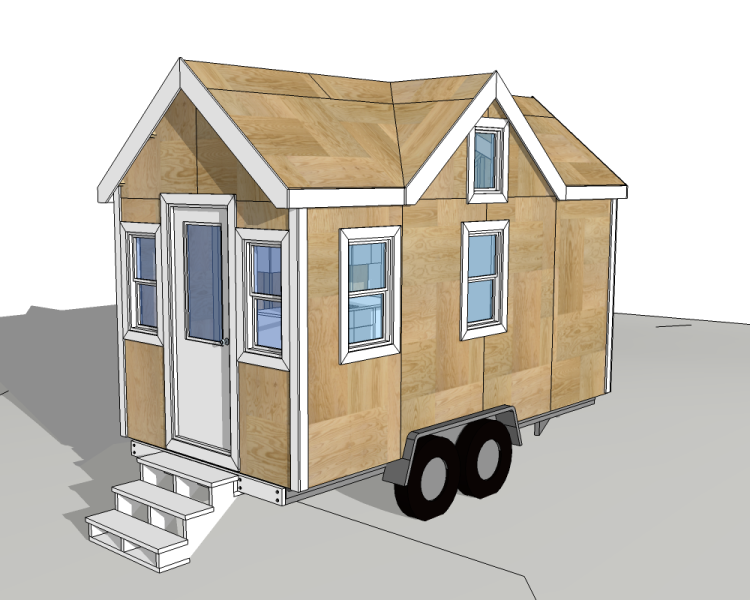 4 tinyhousedesigncom - House On Wheels