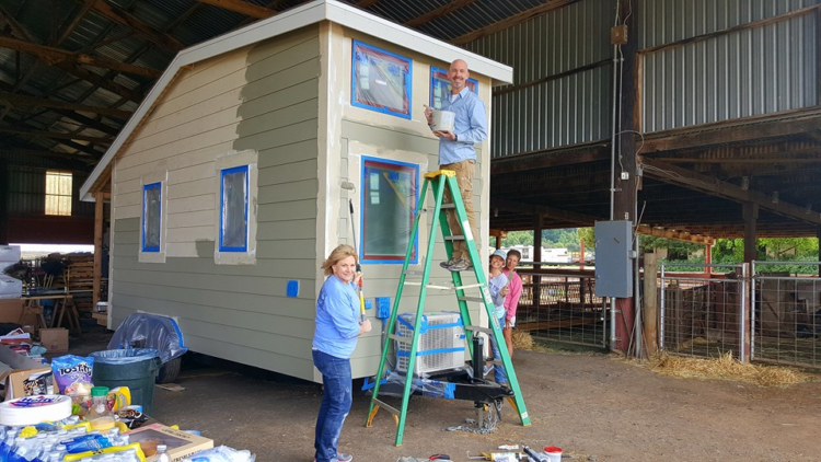 COA Tiny House Painting by Staff