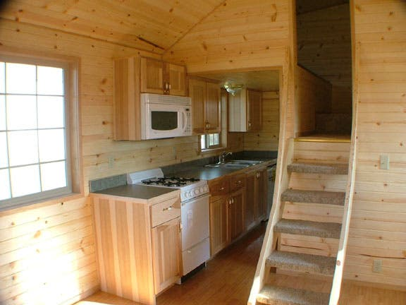 If you're not up for constructing your own tiny home one stick at a time,  these folks will be glad to do it for you. (Actually, unless you're an  experienced ...