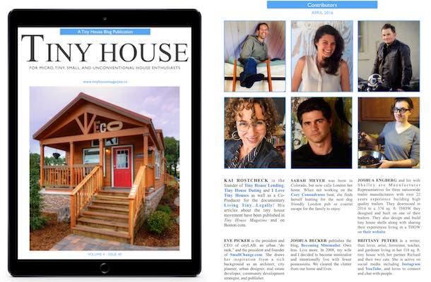 Tiny House Magazine Issue 40