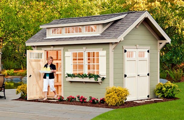 Storage Shed House Home Design Ideas