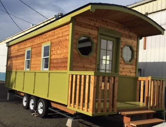 Cool Top 5 Sources For Tiny Trailer Houses For Sale Now Tiny House Blog Largest Home Design Picture Inspirations Pitcheantrous