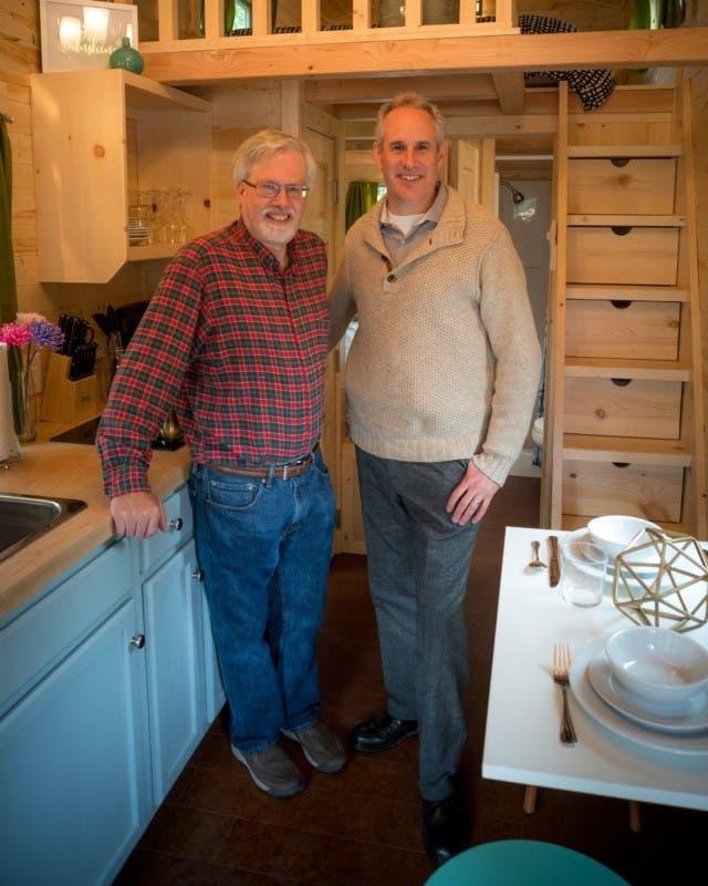Steve Weismann and Kent Griswold