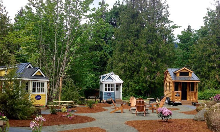 Mt Hood Tiny House Village